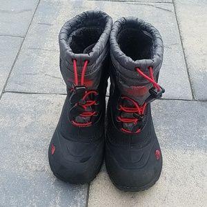 The North Face boots snow rain warm boy kids 13